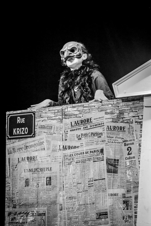 Festival les fabricoles - meung sur loire - cie Krizo théatre - J'accuze
