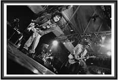 photographie d'art du groupe Rolling Stones